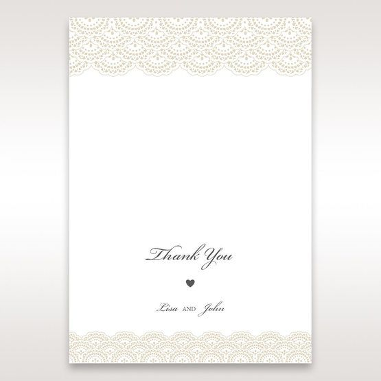 White Amabilis - Thank You Cards - Wedding Stationery - 23