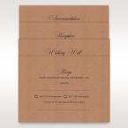 Brown Rustic Romance Laser Cut Sleeve - Wedding invitation - 97