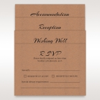 Brown Countryside Chic - Wedding invitation - 25