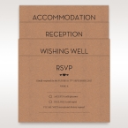 Brown Blissfully Rustic Laser Cut Wrap - Wedding invitation - 33