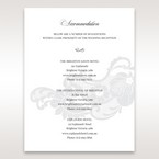 White Black Laser Cut Wrap with Ribbon - Accommodation - Wedding Stationery - 22