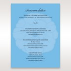 Blue  Urban Flower Handcrafted - Accommodation - Wedding Stationery - 75