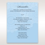 Blue  Handmade Vintage Lace Floral - Accommodation - Wedding Stationery - 87