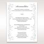 White Modern Times Vintage Pocket - Accommodation - Wedding Stationery - 23