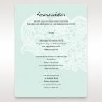 Blue Laser Cut Floral Pocket - Accommodation - Wedding Stationery - 38