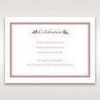 Red Old-fashioned Romance - Reception Cards - Wedding Stationery - 54