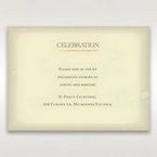 Orange Faded Modern Retro - Reception Cards - Wedding Stationery - 92
