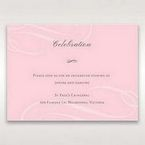 Pink Simply Graceful - Reception Cards - Wedding Stationery - 6
