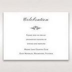 Silver/Gray Kinne Ivory - Reception Cards - Wedding Stationery - 35