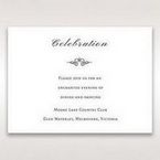 Silver/Gray Kinne White - Reception Cards - Wedding Stationery - 32