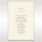 Yellow/Gold Regal Splendor - Order of Service - Wedding Stationery - 55