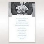 Purple Affair of the Heart - Order of Service - Wedding Stationery - 35