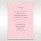 Pink Simply Graceful - Order of Service - Wedding Stationery - 43