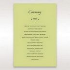 Green Laser Contempo Laser Cut Pocket - Order of Service - Wedding Stationery - 4