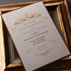 Yellow/Gold Regal Splendor - Wedding invitation - 53