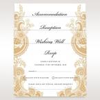 Prosperous Golden Pocket wishing well card DW11045_1