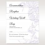 Romantic Rose Pocket reception card DC11049_1