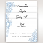 Graceful Wreath Pocket wedding invitations IAB11128_10