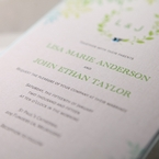 Green Natural Attraction - Wedding invitation - 99