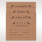 Brown Rustic - Wedding invitation - 54