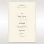 Yellow/Gold Regal Splendor - Menu Cards - Wedding Stationery - 47