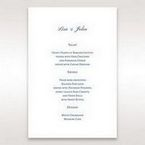 Blue Urban Chandelier - Menu Cards - Wedding Stationery - 33