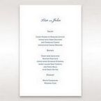 Purple Romantic Elegance, Couture - Menu Cards - Wedding Stationery - 36