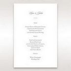 Black Majestic Black, White and Red - Menu Cards - Wedding Stationery - 43