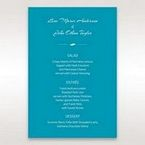 Blue Mystic Forest Band Laser Cut - Menu Cards - Wedding Stationery - 13