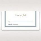 Blue Old-fashioned Romance - Place Cards - Wedding Stationery - 21