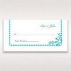 Blue Romantic Modern Floral - Place Cards - Wedding Stationery - 31