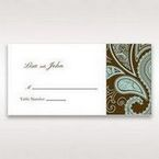 Blue Vintage Swirls - Place Cards - Wedding Stationery - 33
