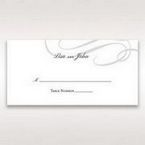 Black Traditional Birde and Groom - Place Cards - Wedding Stationery - 18