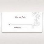 Pink Embossed Romantic Couture, Pink - Place Cards - Wedding Stationery - 80