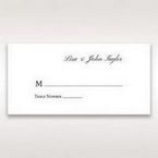 Silver/Gray Kinne Ivory - Place Cards - Wedding Stationery - 15