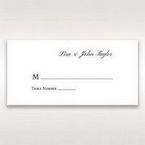 Silver/Gray Kinne White - Place Cards - Wedding Stationery - 19