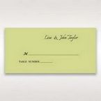 Green Laser Contempo Laser Cut Pocket - Place Cards - Wedding Stationery - 62