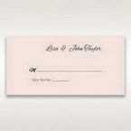 White Laser Inseparable Wrap - Place Cards - Wedding Stationery - 85