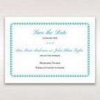 Blue Romantic Modern Floral - Save the Date - Wedding Stationery - 24