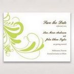 Green Sophisticataed Vintage Swirls - Save the Date - Wedding Stationery - 40