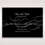 Black Traditional Birde and Groom - Save the Date - Wedding Stationery - 20