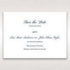 Blue Urban Chandelier - Save the Date - Wedding Stationery - 44