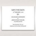White Romantic Laser Cut - Save the Date - Wedding Stationery - 97