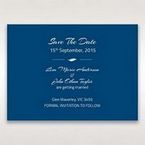 Blue Flower Sash I Laser Cut  - Save the Date - Wedding Stationery - 56