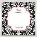 Black Majestic - Table Number Cards - Wedding Stationery - 23