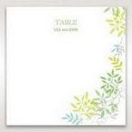 Green Natural Attraction - Table Number Cards - Wedding Stationery - 72