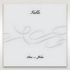Silver/Gray Traditional Birde and Groom - Table Number Cards - Wedding Stationery - 20