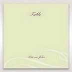 Green Butterfly in the Green Meadow - Table Number Cards - Wedding Stationery - 10