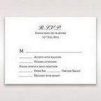 Silver/Gray Galaxy Gold - RSVP Cards - Wedding Stationery - 57