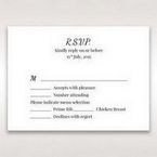 White Mystic Forest Laser Cut Wrap II - RSVP Cards - Wedding Stationery - 35